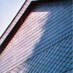 Fassadenverkleidung mit Naturschiefer